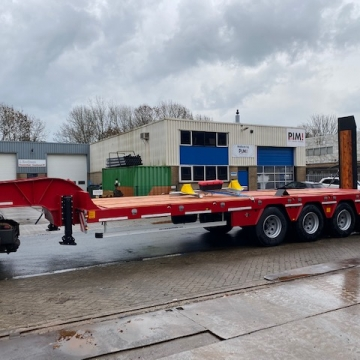 Scorpion SCP 4 66 Tons lowbed 4 axles unused